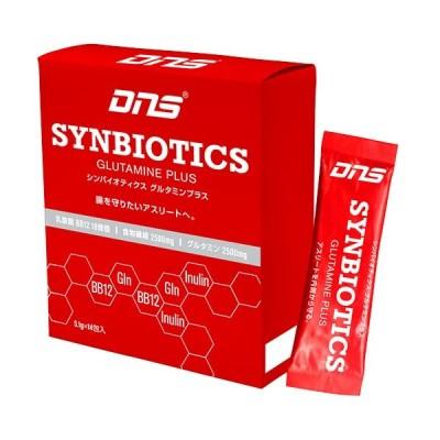 ディーエヌエス(DNS) シンバイオティクス グルタミンプラス G+ ジープラス顆粒 14包 14573290285387 食物繊維 腸活 善玉菌 ビフィズス菌 アスリート