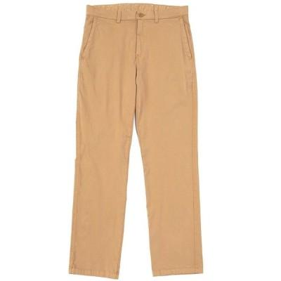 ロウン メンズ カジュアルパンツ ボトムス Straight Fit Garment-Dyed Chino Pants Khaki