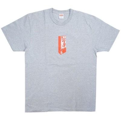 シュプリーム SUPREME 18AW Payphone Tee Tシャツ 灰 Size【L】 【中古品-良い】【中古】