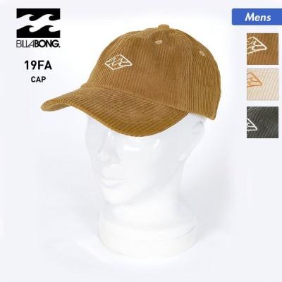 BILLABONG/ビラボン メンズ キャップ 帽子 ぼうし サイズ調節可能 紫外線対策 ロゴ コーデュロイ AJ012-935