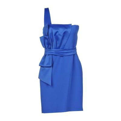リュー ジョー LIU •JO ミニワンピース&ドレス ブルー 38 ポリエステル 88% / ポリウレタン 12% / レーヨン ミニワンピース&