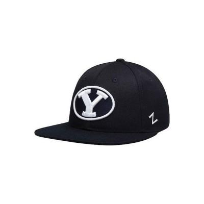 大学 NCAA 海外セレクション Zephyr BYU Cougars Navy M15 Fitted Hat