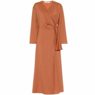 マックスマーラ Max Mara レディース ワンピース ワンピース・ドレス Ladino virgin wool midi wrap dress