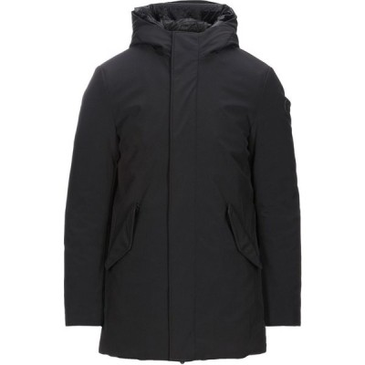 トラサルディ TRUSSARDI JEANS メンズ コート アウター coat Black