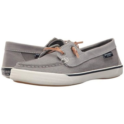 Sperry Lounge Away Chambray レディース ボートシューズ デッキシューズ Grey