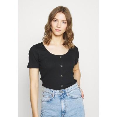 ヴェロモーダ Tシャツ レディース トップス VMHELSINKI NOOS - Print T-shirt - black