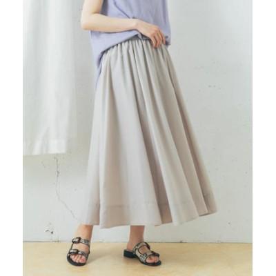 【一部WEB限定カラー】エアリーウエストギャザーロングスカート