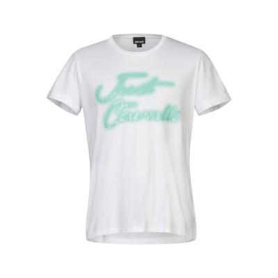 ジャストカヴァリ JUST CAVALLI T シャツ ホワイト XXS コットン 100% T シャツ