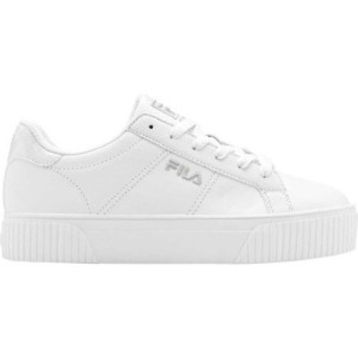 フィラ Fila レディース スニーカー シューズ・靴 Panache Sneaker White/White/Metallic Silver Snakeskin