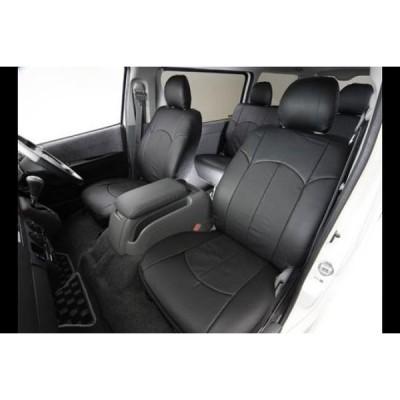UIビークル アウリコ レザーシートカバー フロント2席分 200系 ハイエース S-GL用