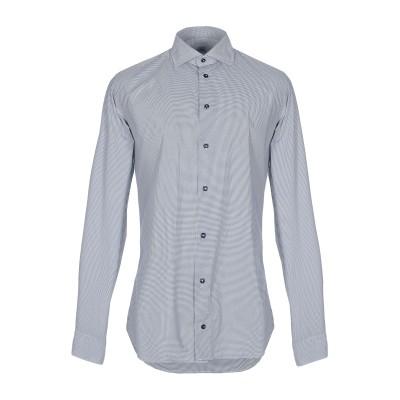 ROSSI  per IL CLAN シャツ ダークブルー 40 コットン 100% シャツ