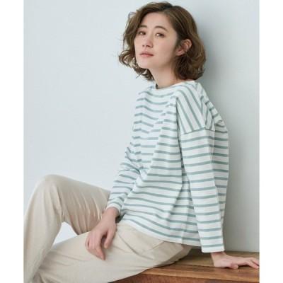 tシャツ Tシャツ 【WEB限定36サイズ】【リンクコーデ】ボーダートップス