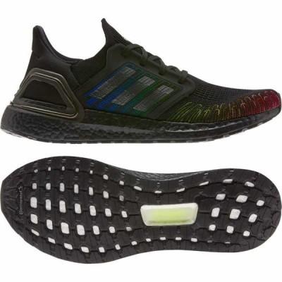 (取寄)アディダス メンズ ウルトラブースト 20 ランニングシューズ adidas Men's Running Ultraboost 20Core Black/Core Black/Signal Green