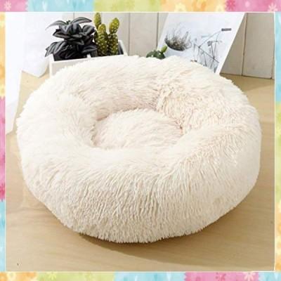 猫のベッド 犬用ベッド 猫クッションベッド ペット用品 直径60cm 丸型 洗える クッションソファ 介護 ふんわり