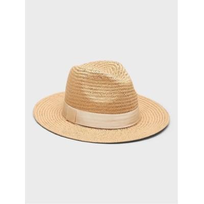 BANANA REPUBLIC / クラシック ストローフェドーラ WOMEN 帽子 > ハット