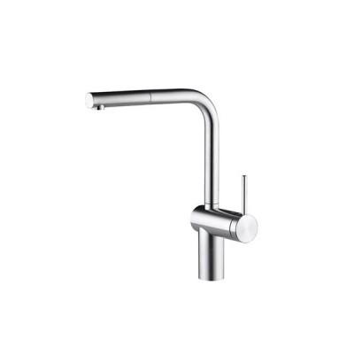 CERA KW0231103S-700 キッチン用湯水混合栓(スパウト引出しタイプ・ステンレス) Livello セラトレーディング CERA_直送品1_(セラトレーディング)