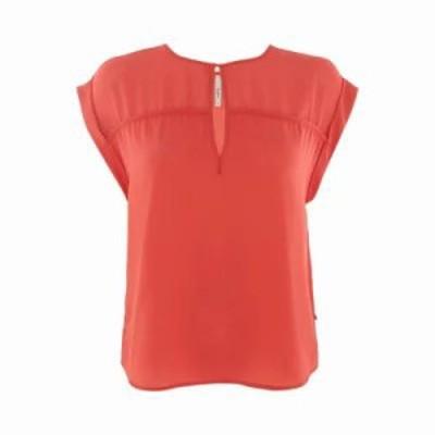 ペペジーンズ ブラウス・シャツ Carey Shirt red
