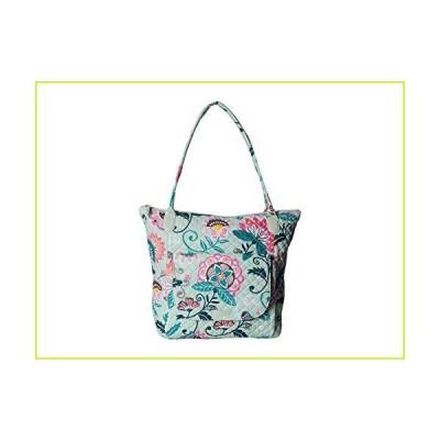 Vera Bradley Carson North/South Tote Mint Flowers One Size【並行輸入品】