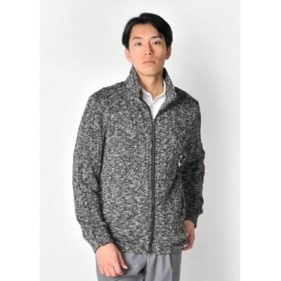 ジャケット ブルゾン 大人のシンプル綺麗めなニットアウター モード