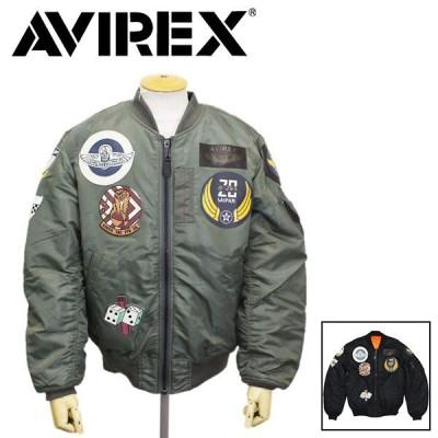 AVIREX (アヴィレックス) 6102172 MA-1 COMMERCIAL TOP GUN エムエーワン コマーシャル トップガン フライトジャケット 全2色