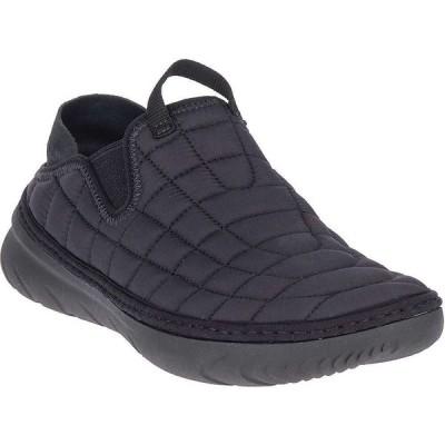 メレル Merrell メンズ スリッポン・フラット シューズ・靴 Hut Moc Shoe Triple Black