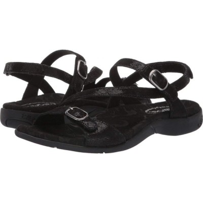 タオス Taos Footwear レディース サンダル・ミュール シューズ・靴 Beauty 2 Black Printed Leather