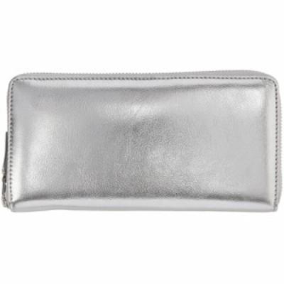 コム デ ギャルソン Comme des Garcons Wallets レディース 財布 Silver Continental Wallet