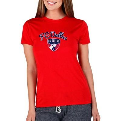 コンセプト スポーツ Concepts Sport レディース Tシャツ トップス FC Dallas Marathon Red Short Sleeve Top