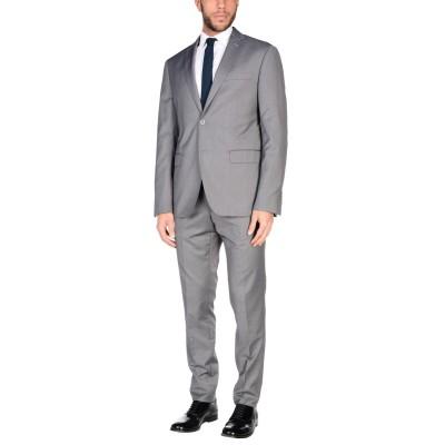 DOMENICO TAGLIENTE スーツ ライトグレー 58 ポリエステル 65% / レーヨン 35% スーツ