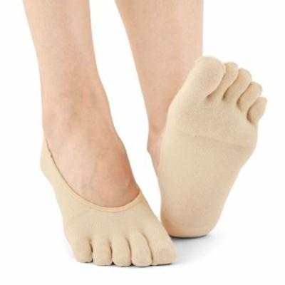 女性下着 レディース 靴下 ソックス フットカバー カバーソックス スマートドライ®5本指フットカバー・2足組 23~25|2655-415533