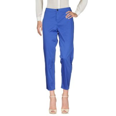 22 MAGGIO by MARIA GRAZIA SEVERI パンツ ブルー 44 コットン 97% / ポリウレタン 3% パンツ
