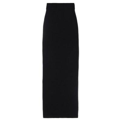 N.O.W. ANDREA ROSATI CASHMERE ロングスカート  レディースファッション  ボトムス  スカート  ロング、マキシ丈スカート ブラック