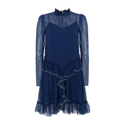シーバイクロエ SEE BY CHLOÉ ミニワンピース&ドレス ダークブルー 38 レーヨン 100% ミニワンピース&ドレス