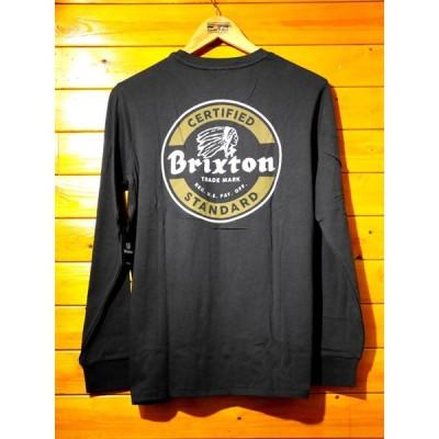 BRIXTON/ブリクストン 2016年春夏 長袖Tシャツ 黒