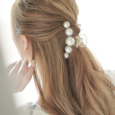 ヘッドドレス 髪飾り ヘアアクセサリークリップ ゴールド パール ウェディング 和装 着物 レディース 髪留め 振袖 結婚式 フォーマル ブライダル お呼ばれ