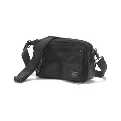 【カバンのセレクション】 吉田カバン ポーター ヒート ショルダーバッグ メンズ レディース ブランド ミニ 小さめ A6 PORTER 703-06975 ユニセックス ブラック フリー Bag&Luggage SELECTION