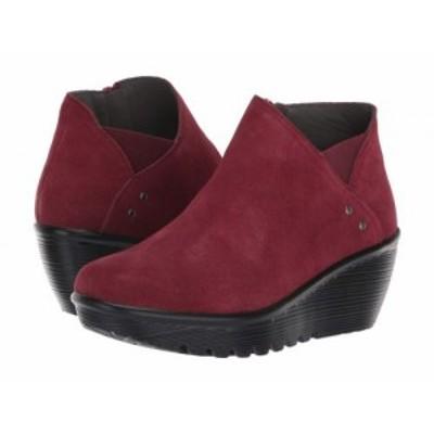 SKECHERS スケッチャーズ レディース 女性用 シューズ 靴 ブーツ アンクル ショートブーツ Parallel Ditto Burgundy【送料無料】