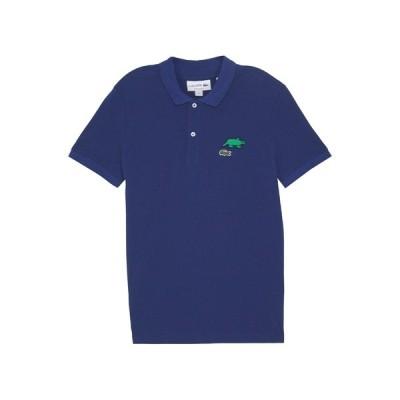ラコステ ポロシャツ メンズ トップス Unisex Lacoste x Jeremyville Design Classic Fit Polo Shirt - Polo shirt - methylene