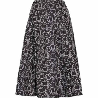 モンクレール MONCLER レディース スカート Logo Pleated Skirt Grey