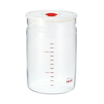 iwaki  耐熱ガラス製保存容器 密閉パック 1.45L 7003MP-R