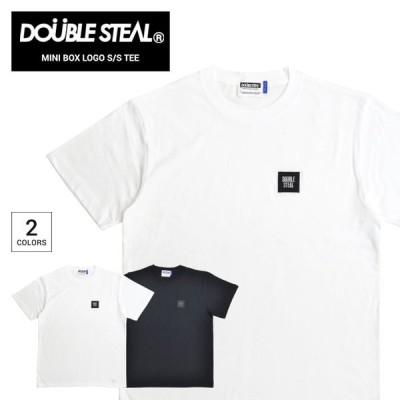 DOUBLE STEAL ダブルスティール Tシャツ MINI BOX LOGO S/S T-SHIRT TEE カットソー トップス 911-12003 単品購入の場合はネコポス便発送