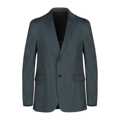 セオリー THEORY テーラードジャケット ダークグリーン 44 リネン 62% / レーヨン 36% / ポリウレタン 2% テーラードジャケット
