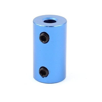 uxcell 5mm to 6mm アルミ合金 DIYモーターシャフト カップリング接続コネクタ