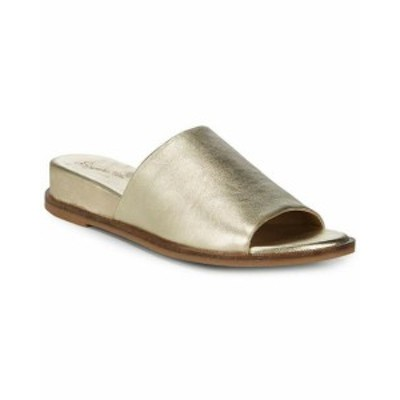 Seychelles セーシェル ファッション サンダル Seychelles Take A Dive Leather Slide 8.5 Metallic