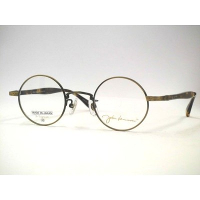 日本製ジョンレノン丸メガネ  チタンセルテンプル丸めがね ・JL1022