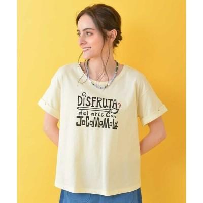 Jocomomola / ホコモモラ Arte ロゴプリントTシャツ
