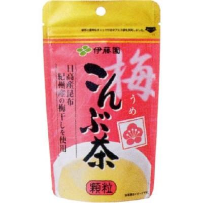 [伊藤園]梅こんぶ茶 55g