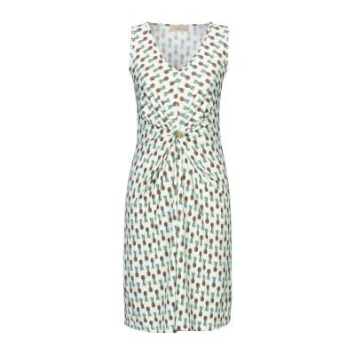 ジャスト・フォー・ユー JUST FOR YOU ミニワンピース&ドレス スカイブルー S レーヨン 100% ミニワンピース&ドレス