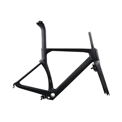 (新品) ICAN Aero Carbon Road Bike Frame Set 700C 54cm