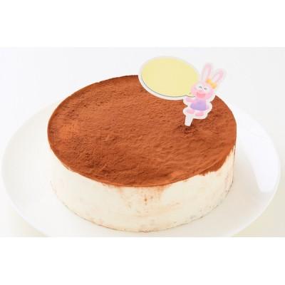グルテンフリー対応 卵・乳製品・小麦粉不使用 米粉ティラミス ホールケーキ 5号 15cm